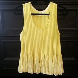 Anthropologie Moth Ostinato Knit Tank